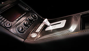 corporate photograph mercedes console