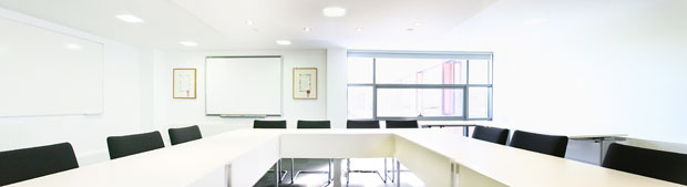 panoramic interior meeting room