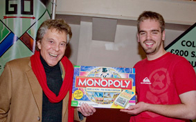 world monopoly championship with lionel blair